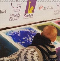 Живая плитка на проекте Five Chefs Dinner