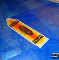 Живая плитка в Crayola