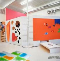 Живая плитка в детском саду